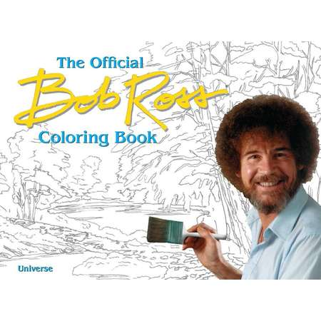The Official Bob Ross Coloring Book thumb