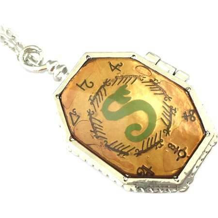 b6f205b5823 Harry Potter Horcrux Locket Silver Tone Necklace w Gift Box by Superheroes  thumb