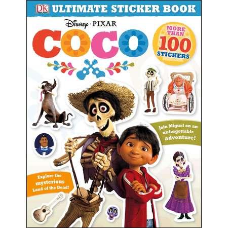 Ultimate Sticker Books: Ultimate Sticker Book: Disney Pixar Coco (Paperback) thumb