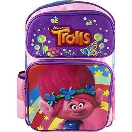 "Dreamworks Trolls Poppy 16"" Large Girls School Backpack thumb"
