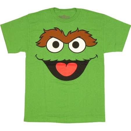 Sesame Street Oscar Face Shirt thumb