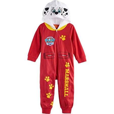 Paw Patrol Marshall Hooded Footless Pajamas Toddler Boy (3T) thumb 42a5e2984