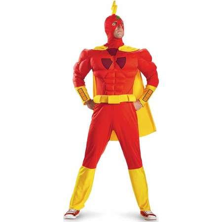 The Simpsons Radioactive Man Classic Muscle Adult Halloween Costume thumb