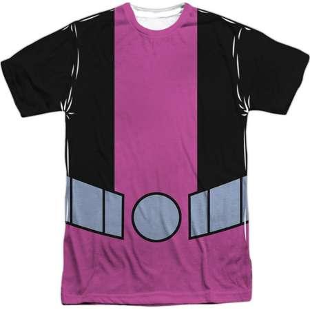 Teen Titans Go! Animated DC TV Show Beast Boy Uniform Adult Front Print T-Shirt thumb