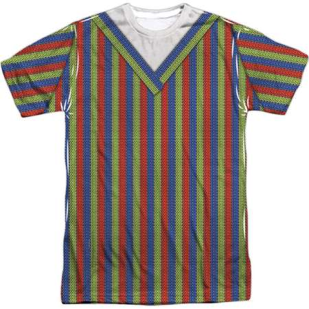Sesame Street Classic Children's TV Show Bert Costume Adult Front Print T-Shirt thumb