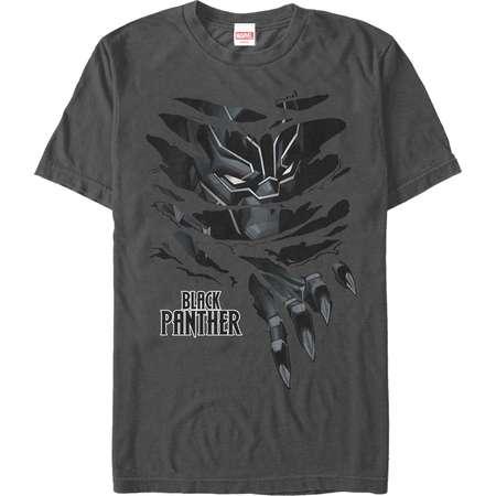 Marvel Men's Black Panther Claw Tear T-Shirt thumb