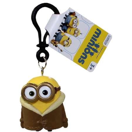 Minions Movie: Parka Bob PVC Figurine Backpack Clip Keychain thumb