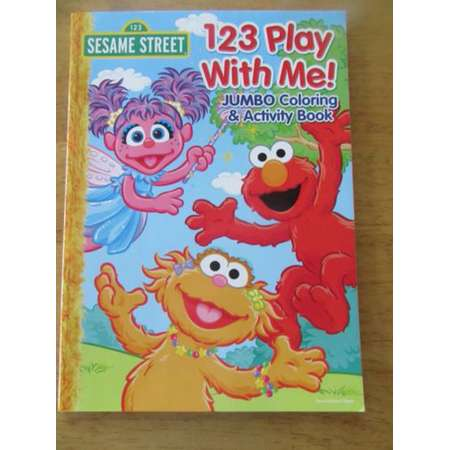 Sesame Street 123 Play With Me! Coloring & Activity Book NEW thumb