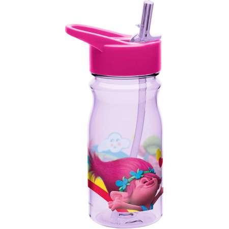 Trolls Movie Kids Water Bottle BPA-FREE 16oz thumb