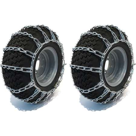 PAIR 2 Link TIRE CHAINS 20x9x8 fits many Can-Am Quest Outlander Renegade DS ATV by The ROP Shop thumb