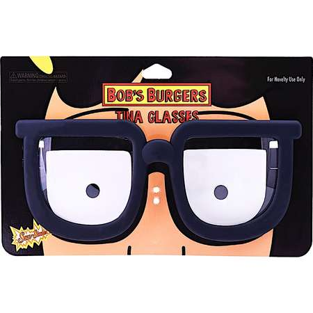 Party Costumes - Sun-Staches - Bobs Burgers Tina Belcher Costume Mask New sg2968 thumb