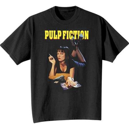 Pulp Fiction Mia Men's Black T-Shirt thumb