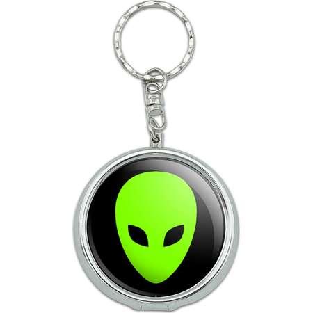 Alien Head Portable Ashtray Keychain thumb