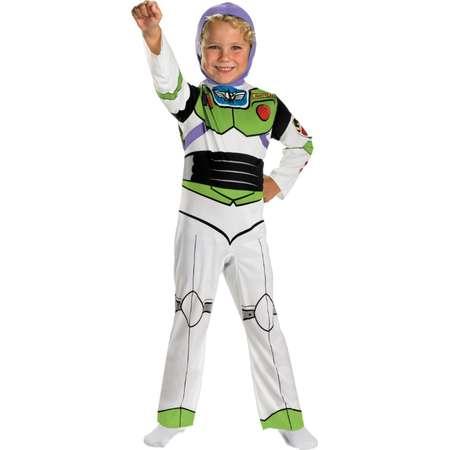 29b35e25b8f Disney Toy Story Boys Buzz Lightyear Costume Space Ranger Jumpsuit Small  4-6 thumb