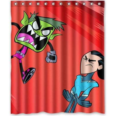 DEYOU Teen Titans Go Beast Boy Shower Curtain Polyester Fabric Bathroom Shower Curtain Size 60x72 inches thumb