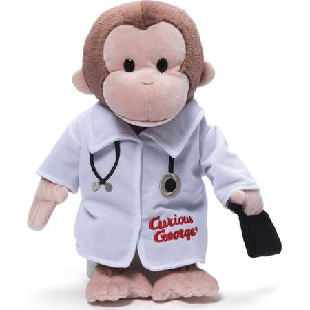 Gund Curious George Doctor thumb