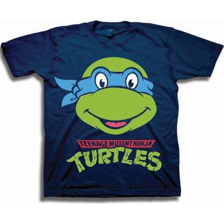 Teenage Mutant Ninja Turtles Toddler Boys' Leonardo Character Head Short Sleeve Graphic T-Shirt thumb