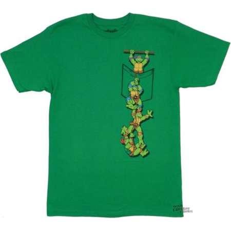 Teenage Mutant Ninja Turtles In Pocket TMNT Adult T-Shirt thumb