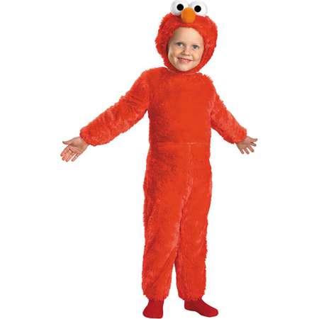 Sesame Street Elmo Comfy Fur Toddler Halloween Costume thumb