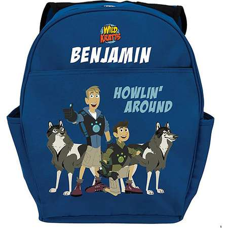 0198eed7c0c5 Personalized Wild Kratts Howlin  Around Youth Backpack thumb
