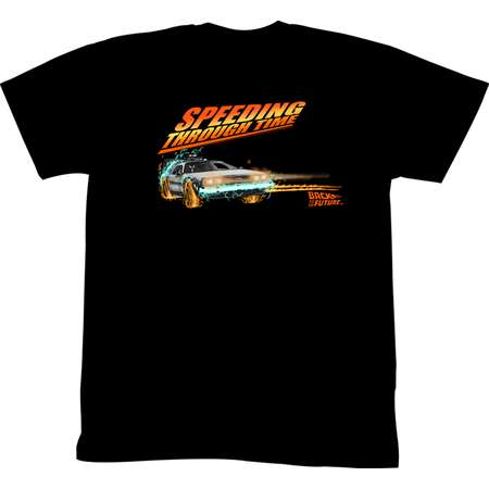 Back To The Future Movie Drifting Thru Time 1 Adult T-Shirt Tee thumb