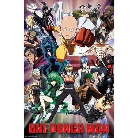 One Punch Man - Key Art 2 Poster Print thumb