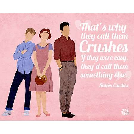 Sixteen Candles Quote Photographic Prints thumb