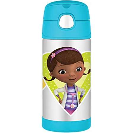 Thermos Funtainer 12 Ounce Bottle, Doc McStuffins thumb