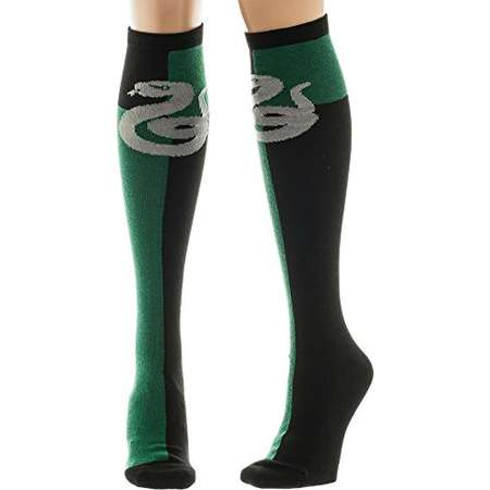 Harry Potter Slytherin Crest Knee High Socks Multi One Size thumb