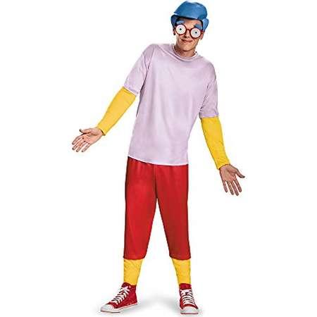 Disguise Men's Homer Deluxe Teen, Multi, Medium