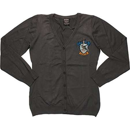 Harry Potter Hogwarts School of Wizardry Ravenclaw Cardigan, XX-Large thumb