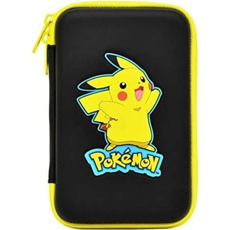 HORI Pikachu Hard Pouch for New Nintendo 3DS XL Officially Licensed by Nintendo & Pokemon thumb
