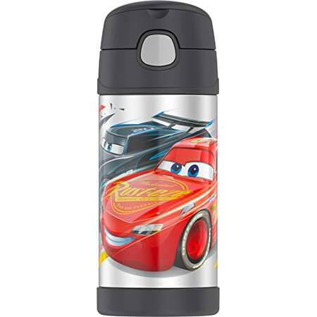 Thermos Funtainer 12 Ounce Bottle, Cars thumb