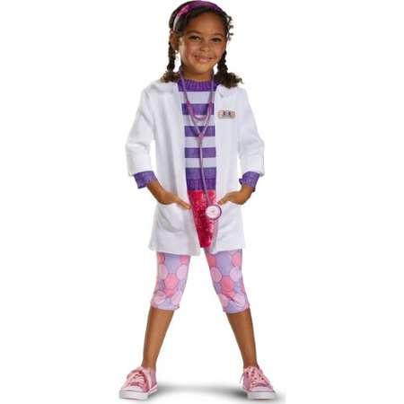 Disney Doc McStuffins Doc Deluxe Girls Costume, Medium/7-8 thumb