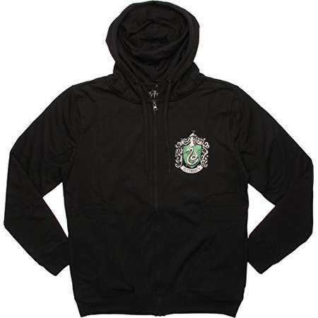Harry Potter Slytherin Crest Unisex Hoodie, X-Large thumb