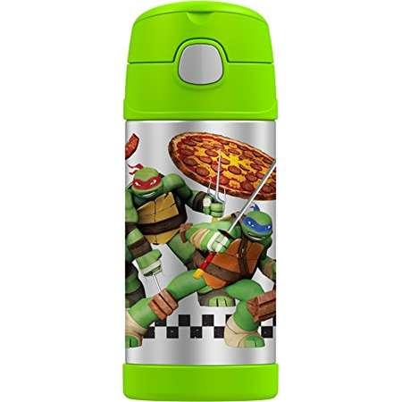 Thermos Funtainer 12 Ounce Bottle, Teenage Mutant Ninja Turtles thumb