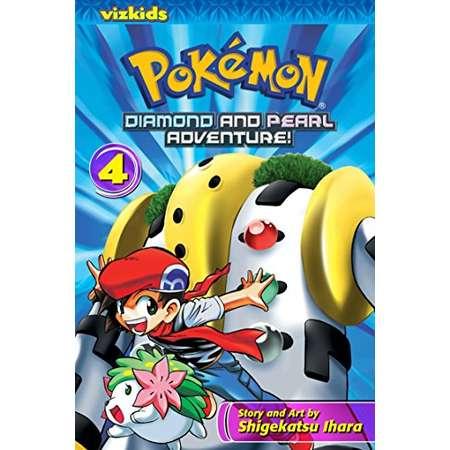 Pokémon: Diamond and Pearl Adventure!, Vol. 4 (Pokemon) thumb