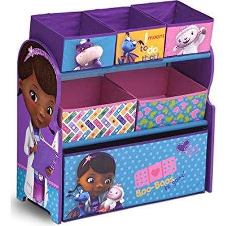 Delta Children Multi-Bin Toy Organizer, Disney Junior Doc McStuffins thumb