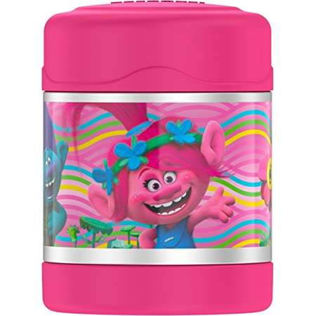 Thermos Funtainer 10 Ounce Food Jar, Trolls thumb