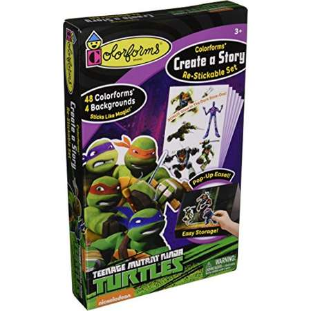 Colorforms Create a Story Teenage Mutant Ninja Turtles thumb
