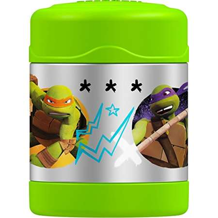 Thermos Funtainer 10 Ounce Food Jar, Teenage Mutant Ninja Turtles thumb