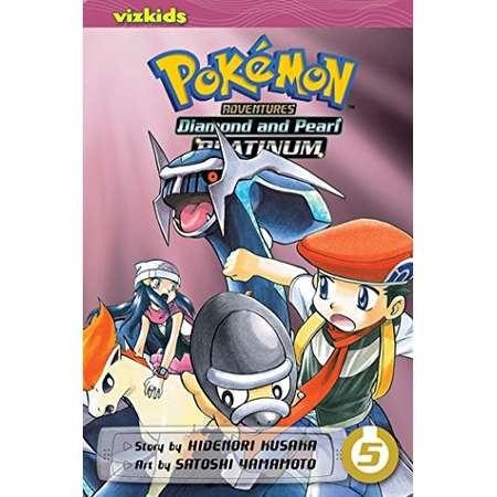 Pokémon Adventures: Diamond and Pearl/Platinum, Vol. 5 (Pokemon) thumb