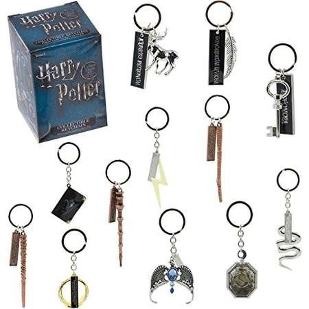 Harry Potter Collectible Key Chain Mystery Blind Box - Receive 1 of 12 Mystery Key Rings - Spells, Wands and Horcruxes - Collect all 12! - Series 1 thumb