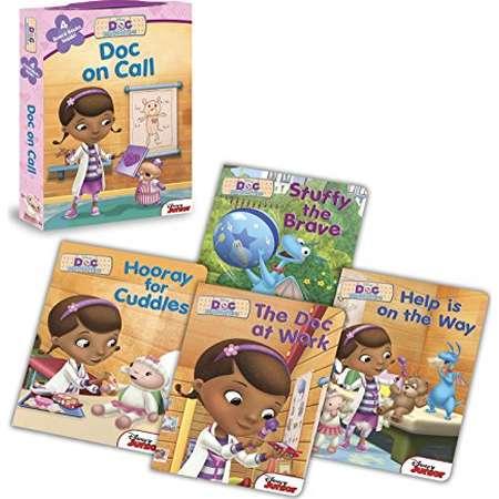 Doc McStuffins: Doc on Call: Board Book Boxed Set thumb