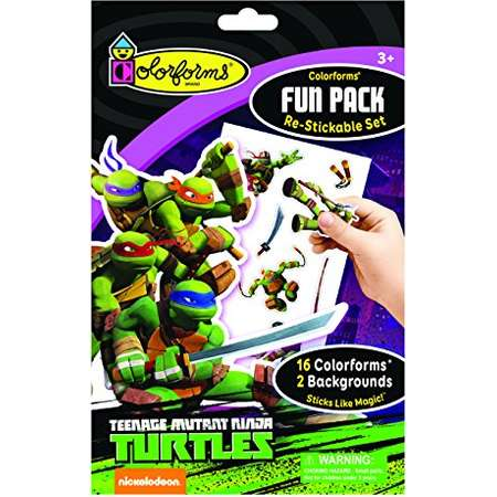 Colorforms Fun Pack Teenage Mutant Ninja Turtles thumb