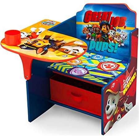 Delta Children Chair Desk With Storage Bin, Nick Jr. PAW Patrol thumb