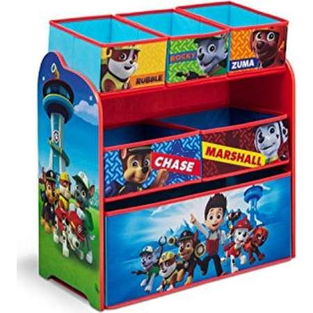 Delta Children Multi-Bin Toy Organizer, Nick Jr. PAW Patrol thumb