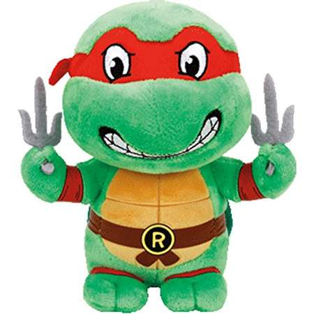TY Beanie Baby - RAPHAEL (Teenage Mutant Ninja Turtles) thumb