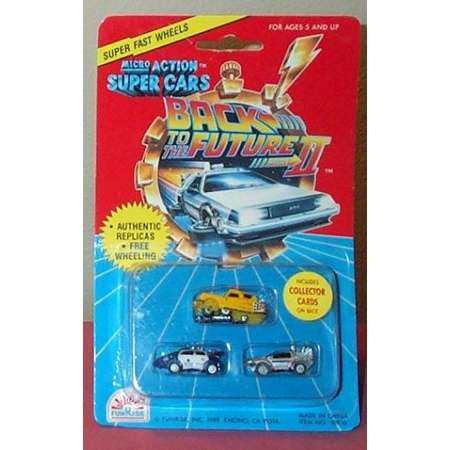 Back to the Future II Micro Action Super Cars thumb