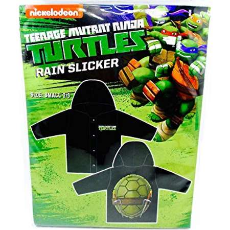 Disney Rain Slicker for Children,Hood (Small 2/3, Nickelodeon Teenage Mutant Ninja Turtles) thumb